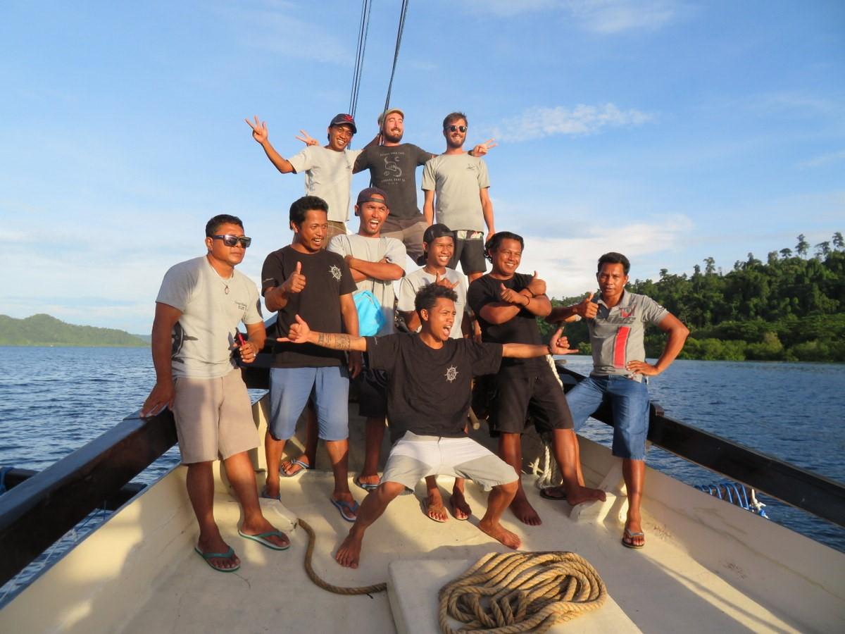Equipage Raja Ampat croisière indonésie