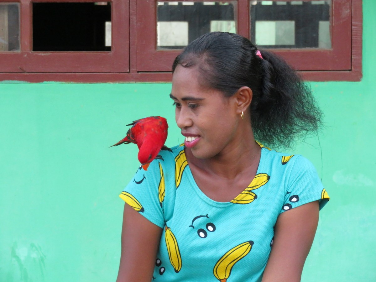 village raja ampat femme