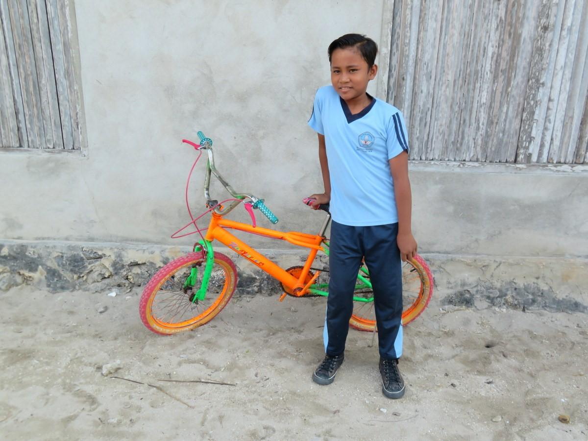village raja ampat mon beau vélo