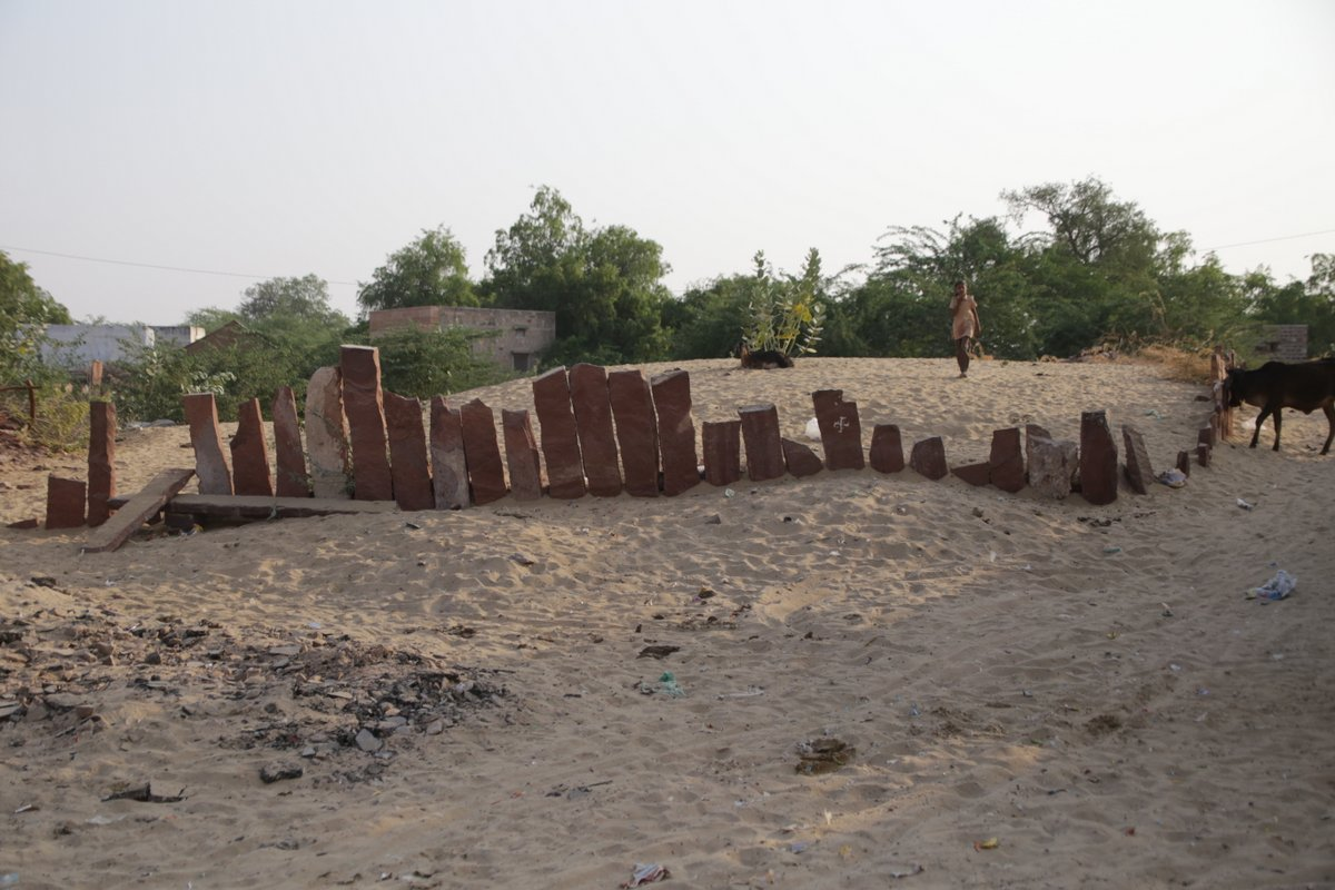 Parcelles cultivables désert Thar