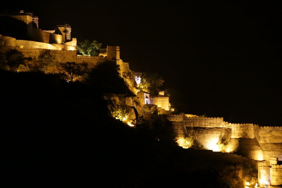 murailles du fort de Khumbalgarh.