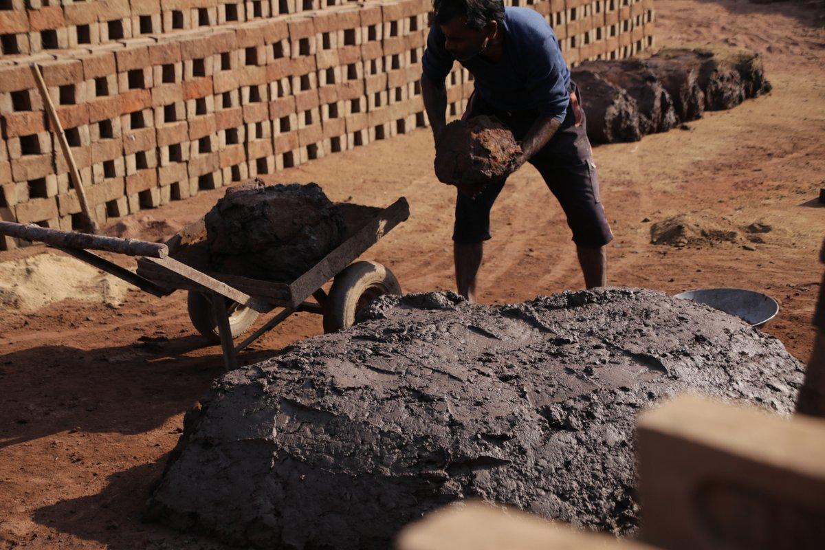 confection de brique Rajasthan