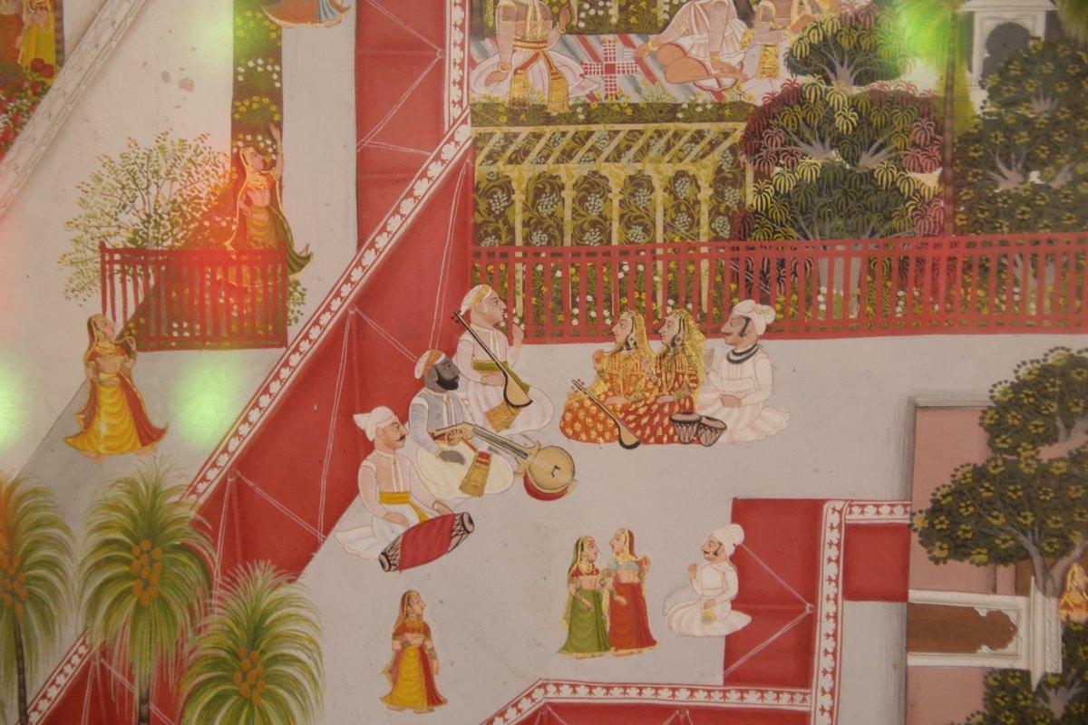 décors intérieurs palais Udaïpur