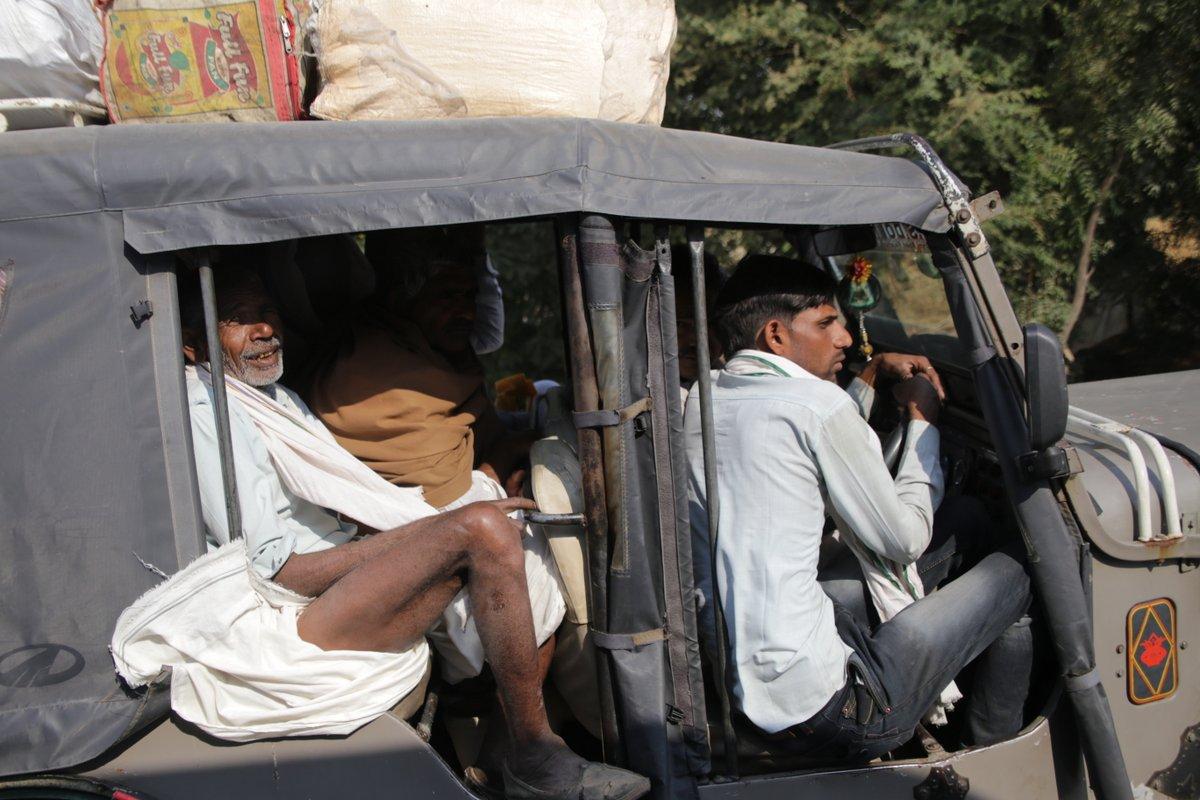 Sur la route d'Agra
