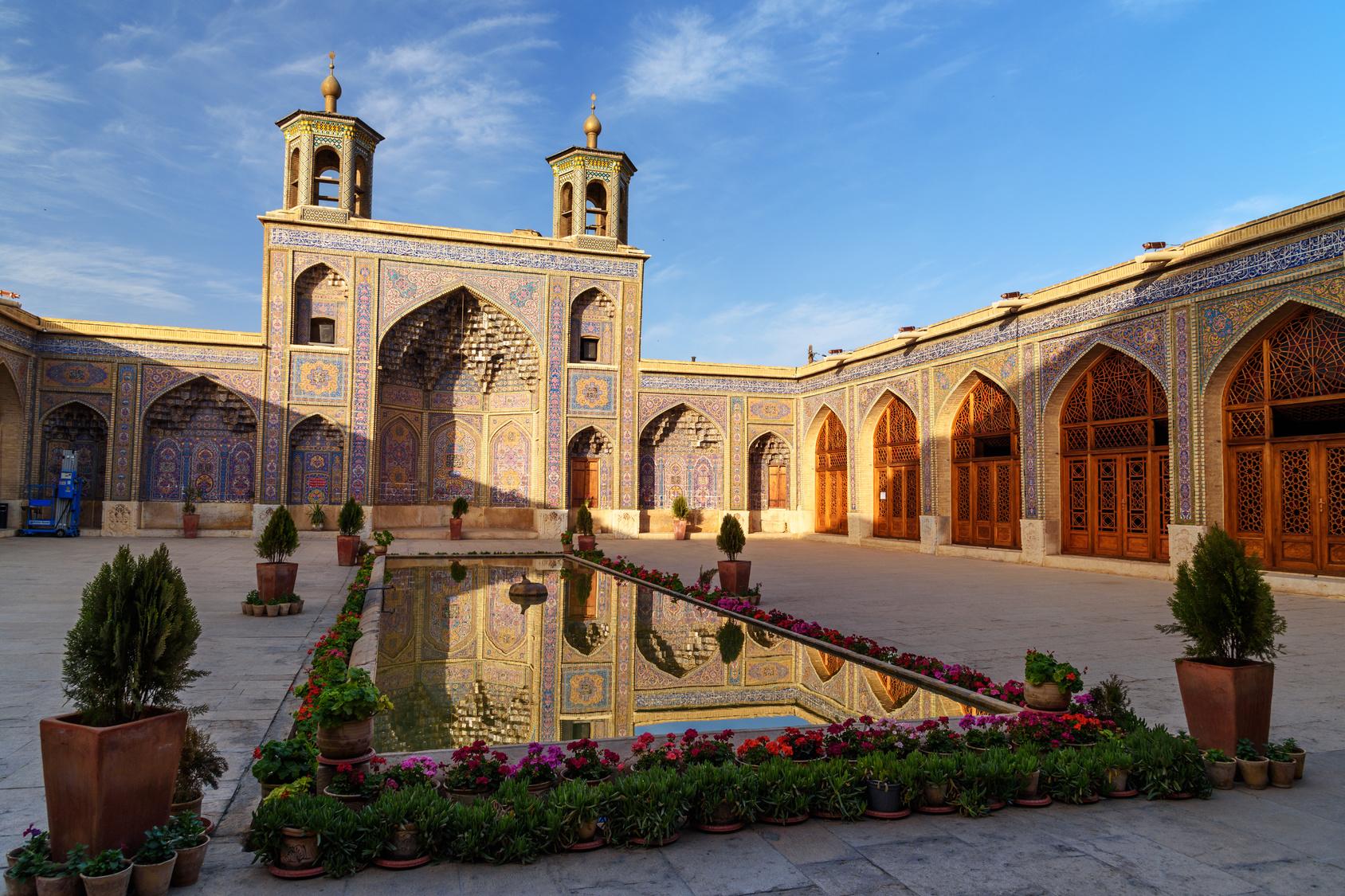 Mosquée Rose Shiraz
