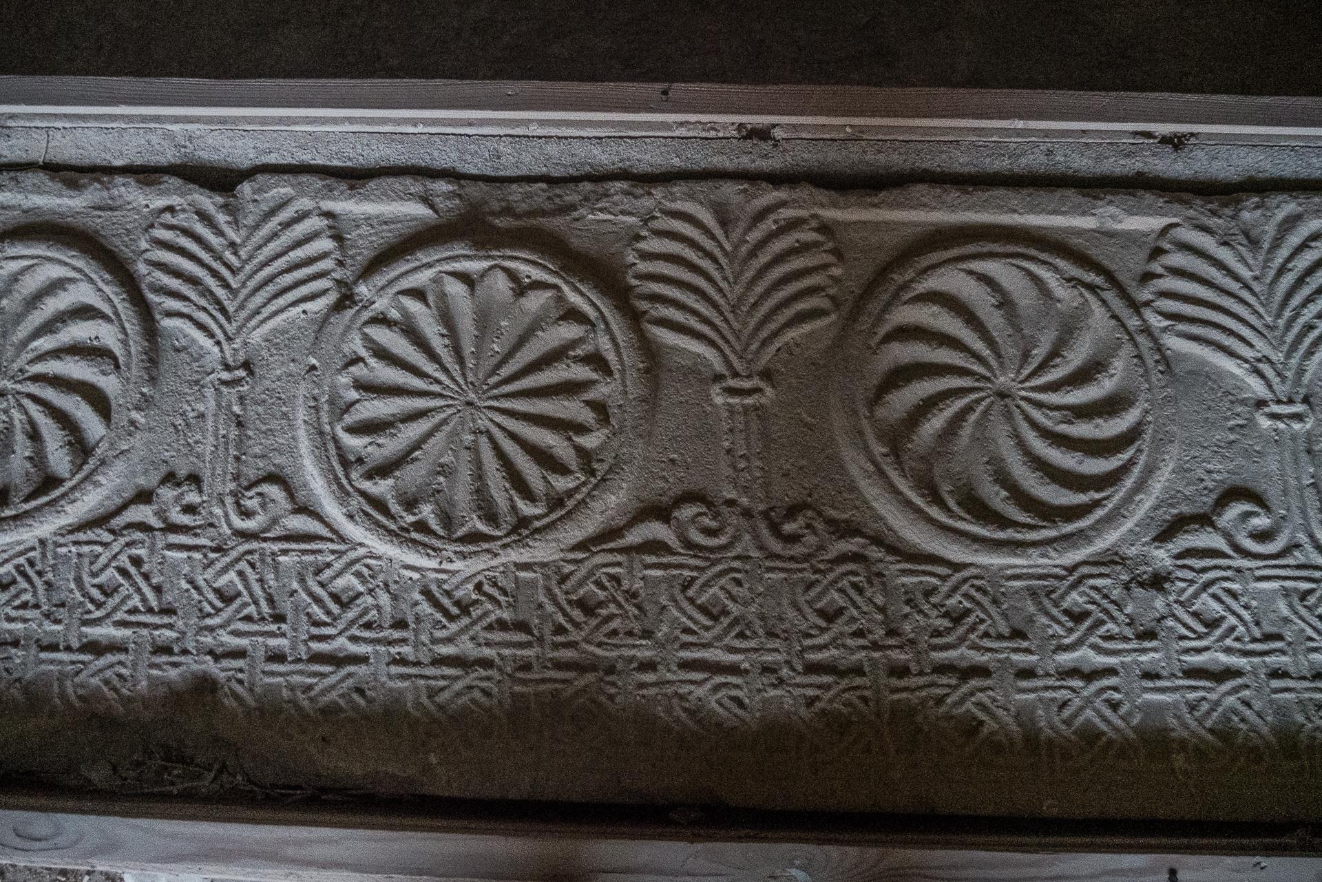 bas relief chateau de Shaubak