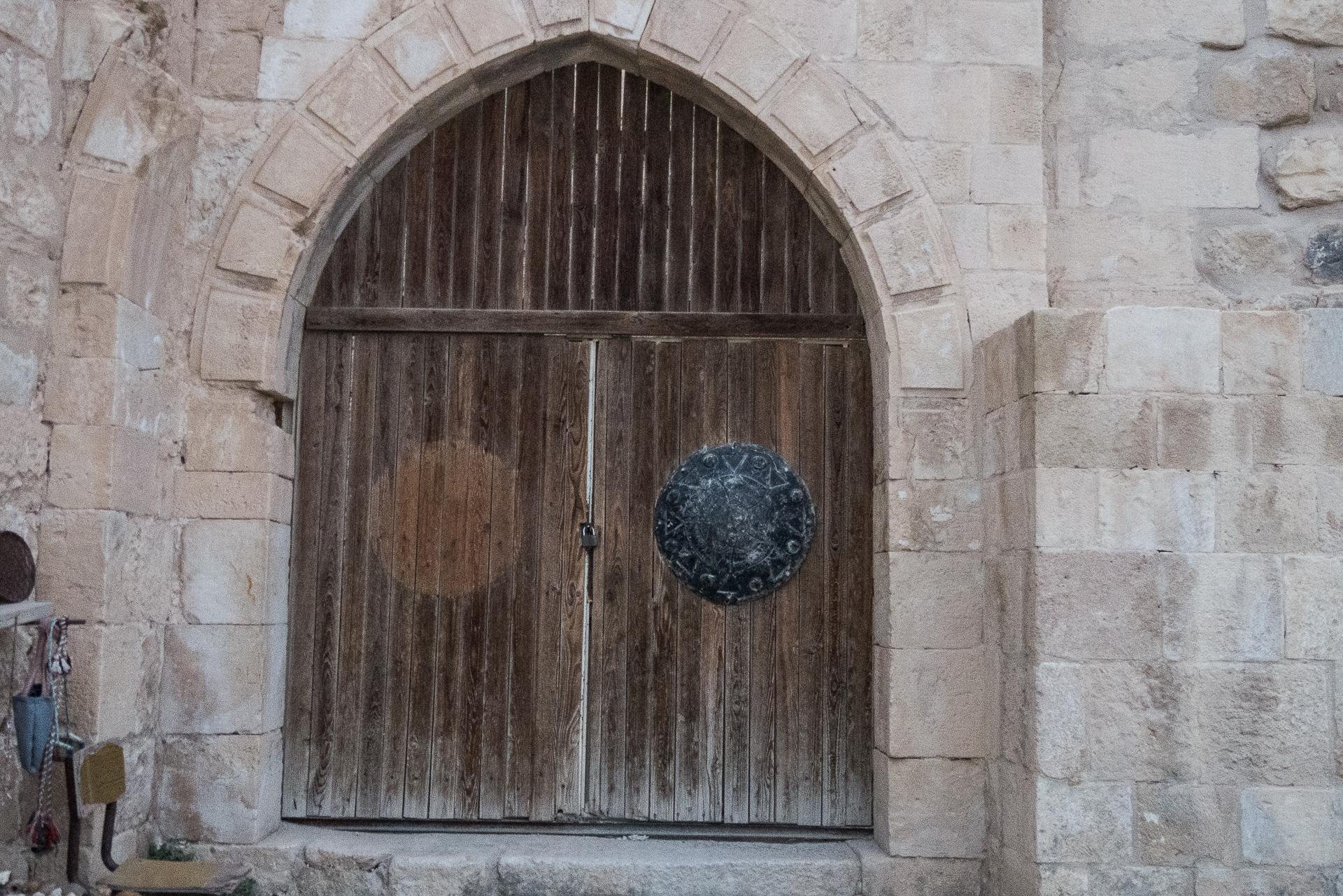La porte du chateau de Shaubak