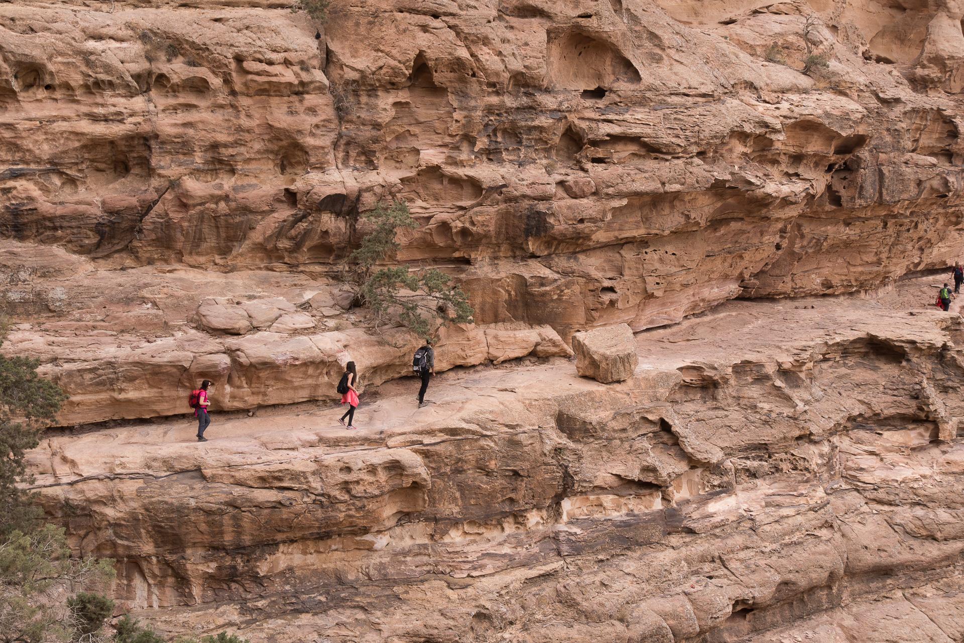 Petra et little Petra Jordanie