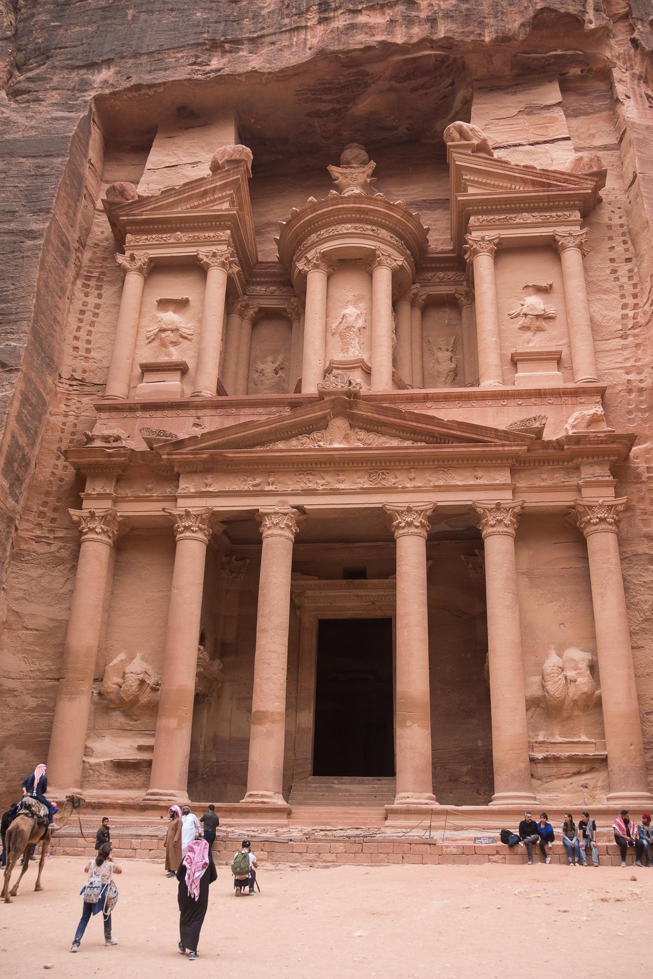 Le trésor Petra Jordanie