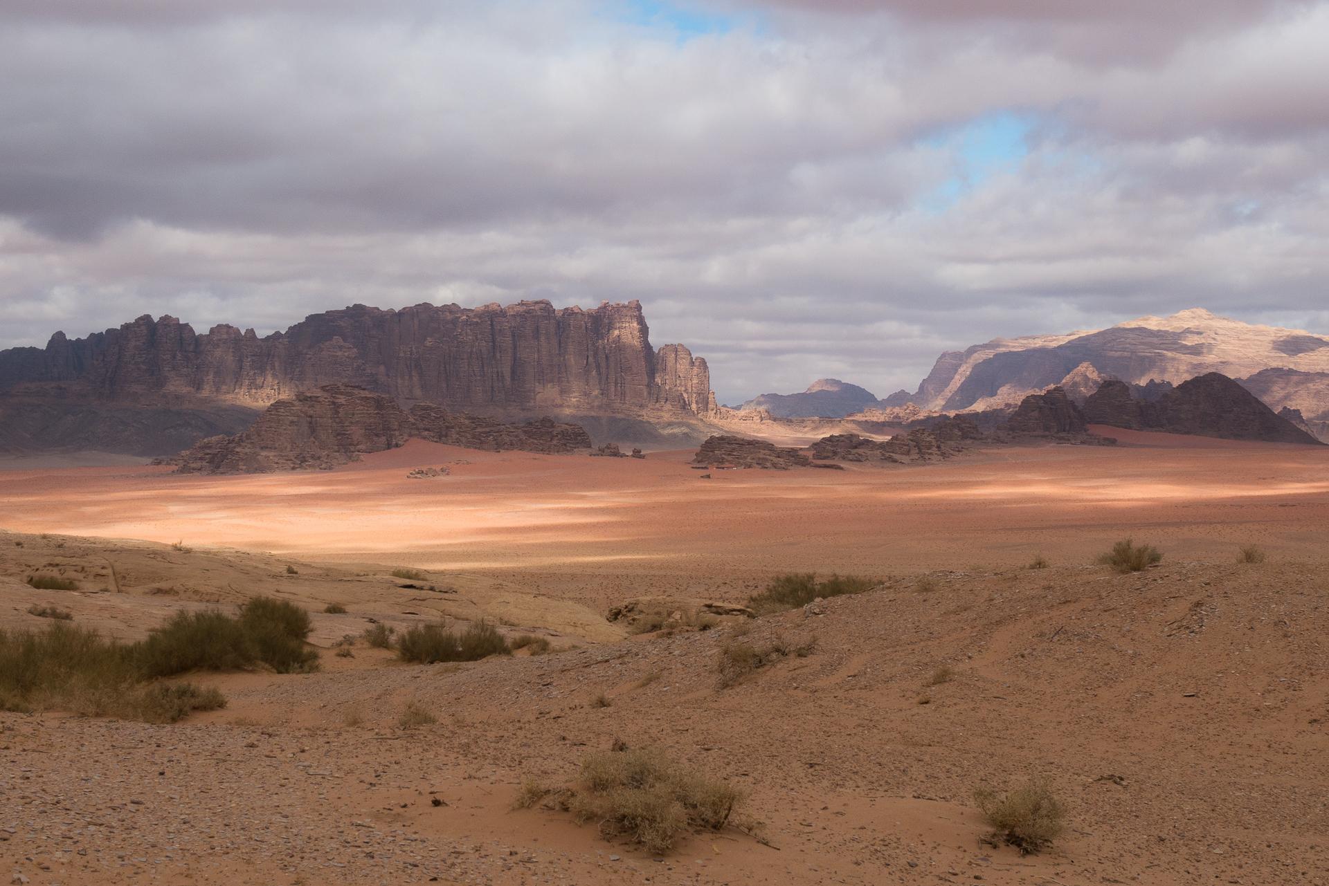 wadi rum nuage