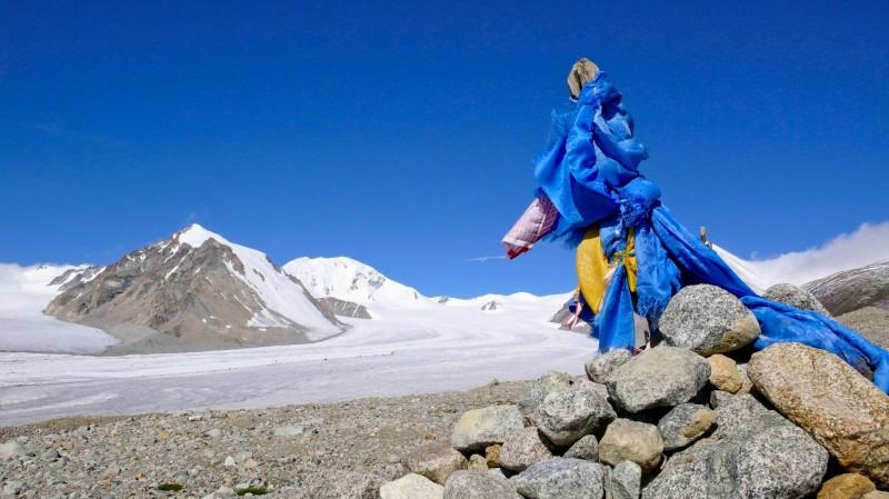 Ascension Malchin Uul altaï Mongolie