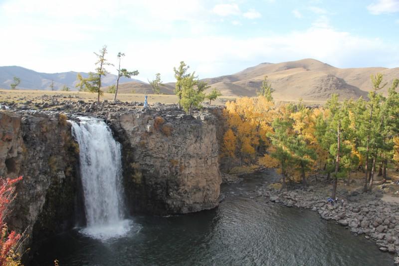 cascade vallée orkon