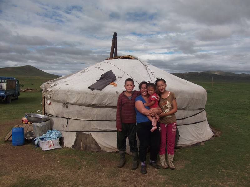 nomades mongolie