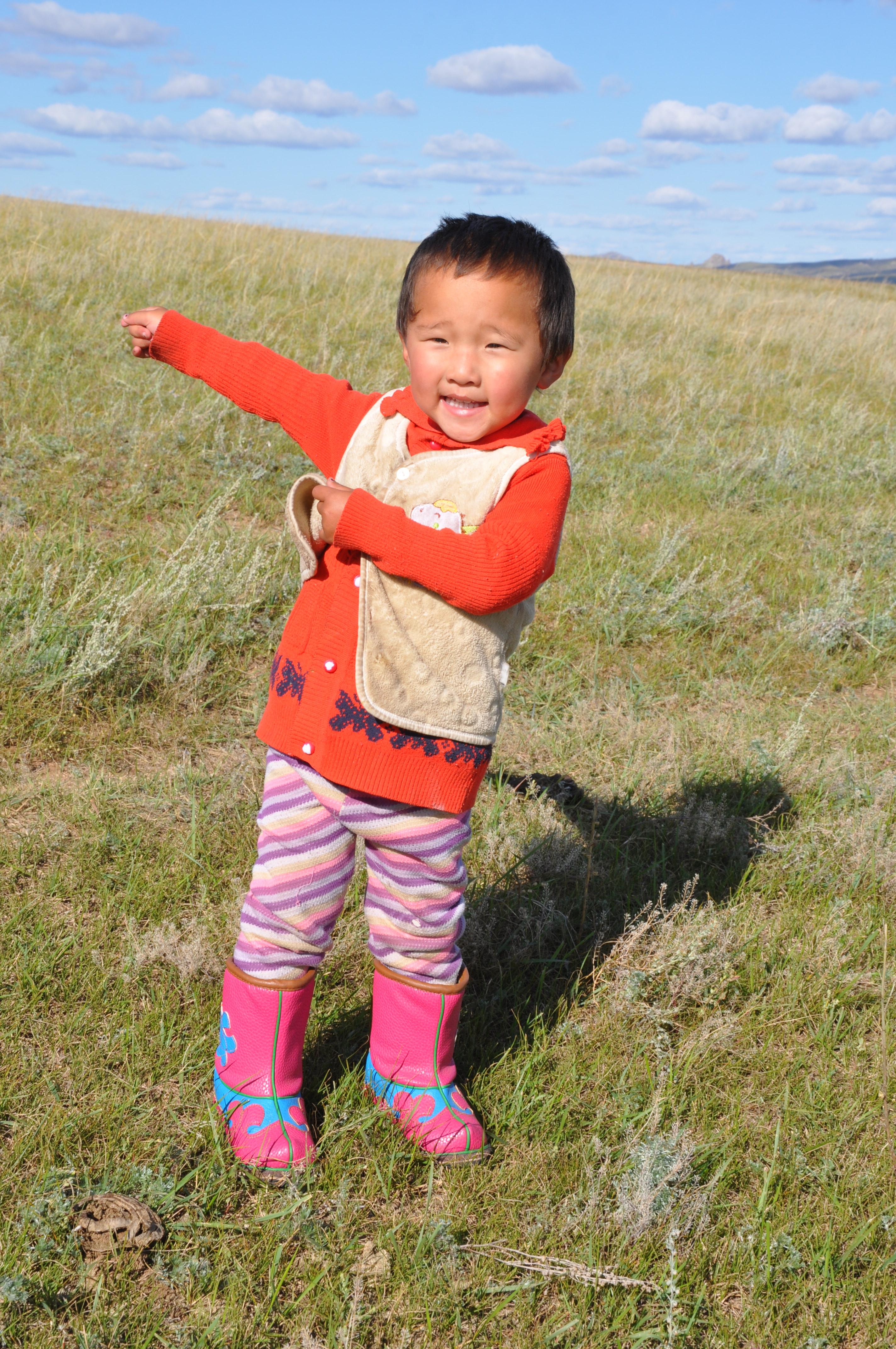 danse jeune nomade mongol