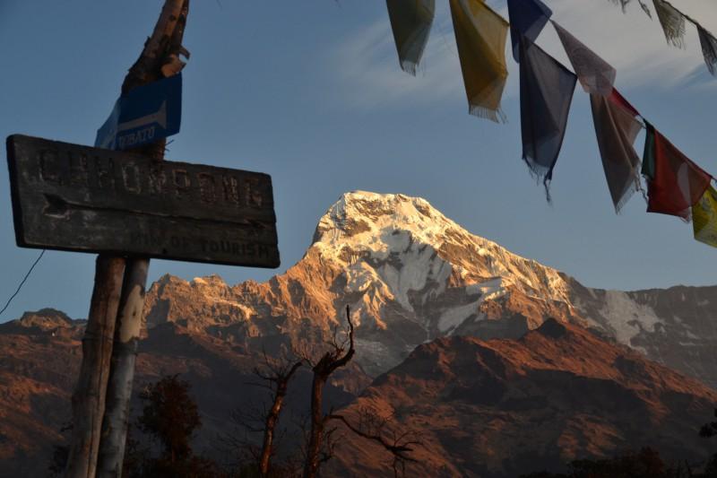 Balcon des Annapurna - Sud