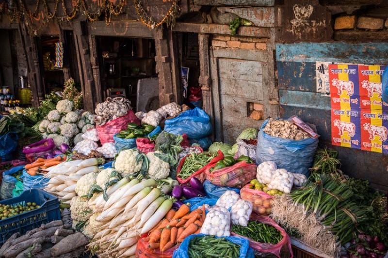 Marché Kathmandu