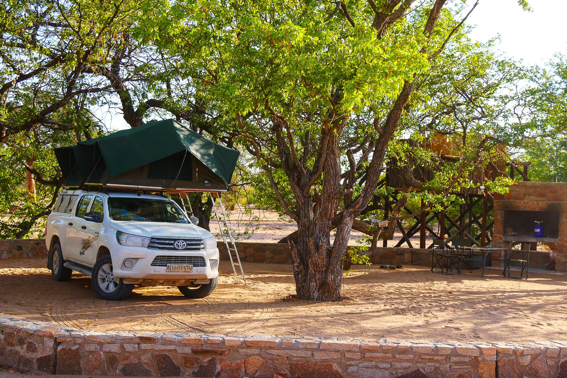Madisa camp Namibie