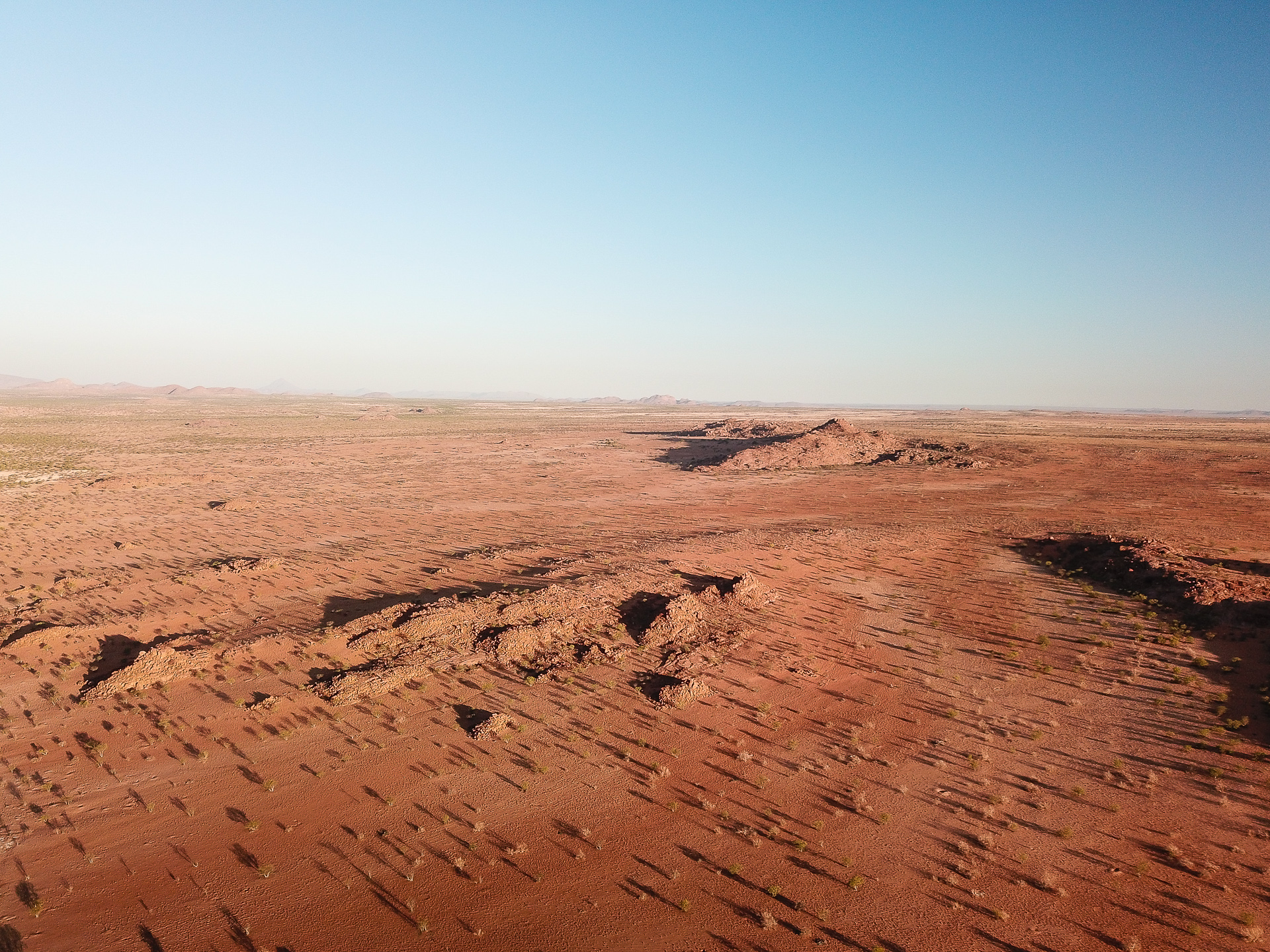 rédion de Madia camp Namibie