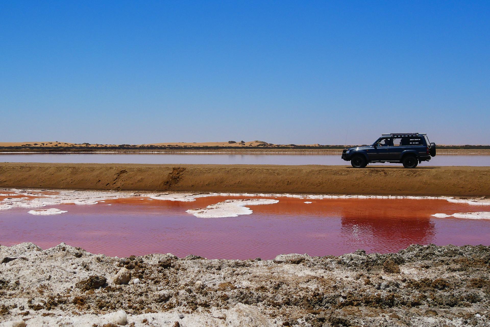 Walvis bay sortie en 4x4 Namibie