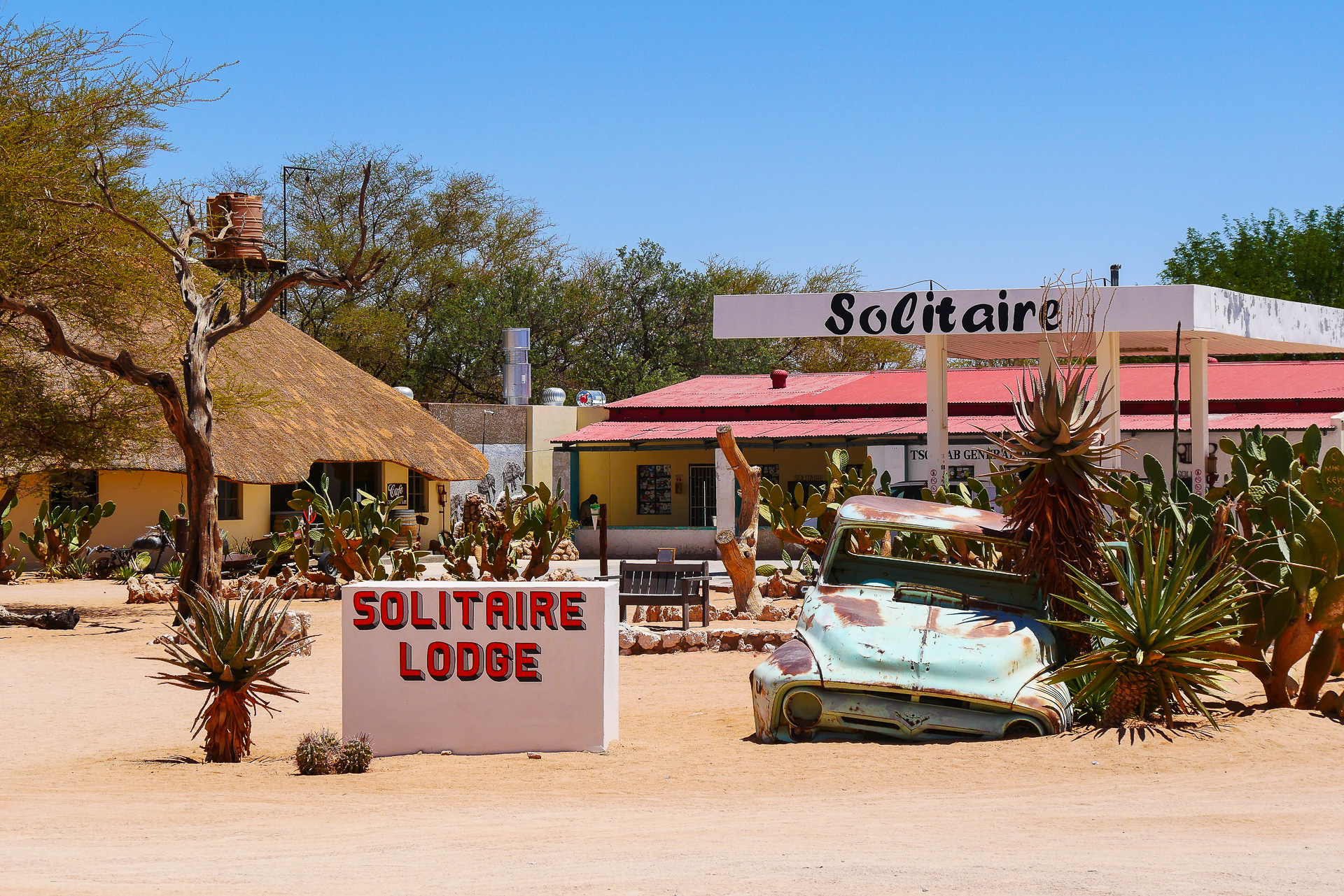 solitaire Namibie