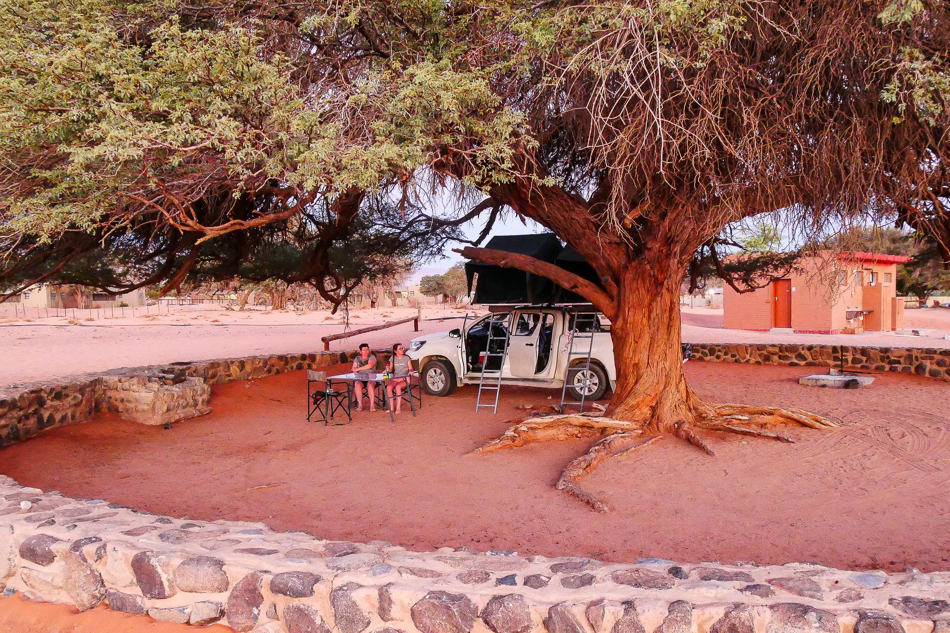 camp sesriem namibie