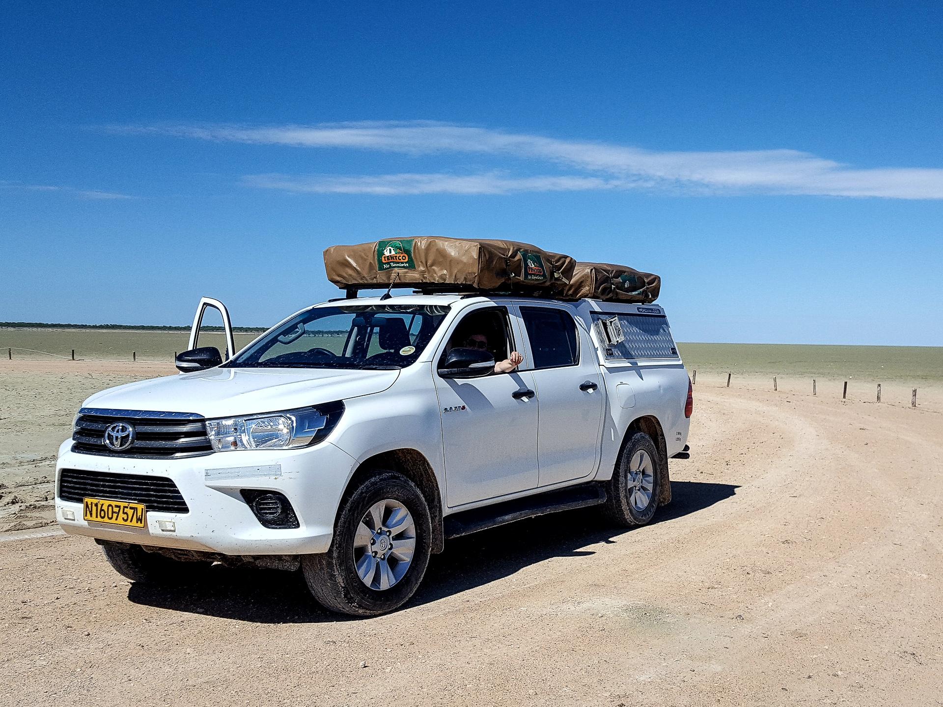 Namibie sur mesure location vehicule 4X4