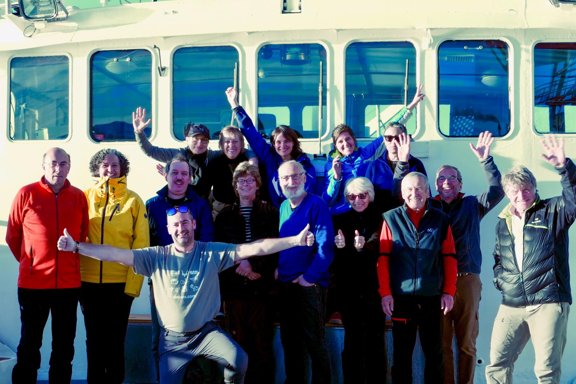 Voyageurs croisière Spitzberg Tirawa