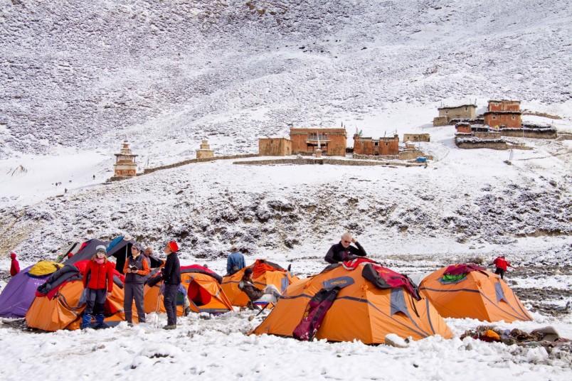 Camp de base haut Dolpo