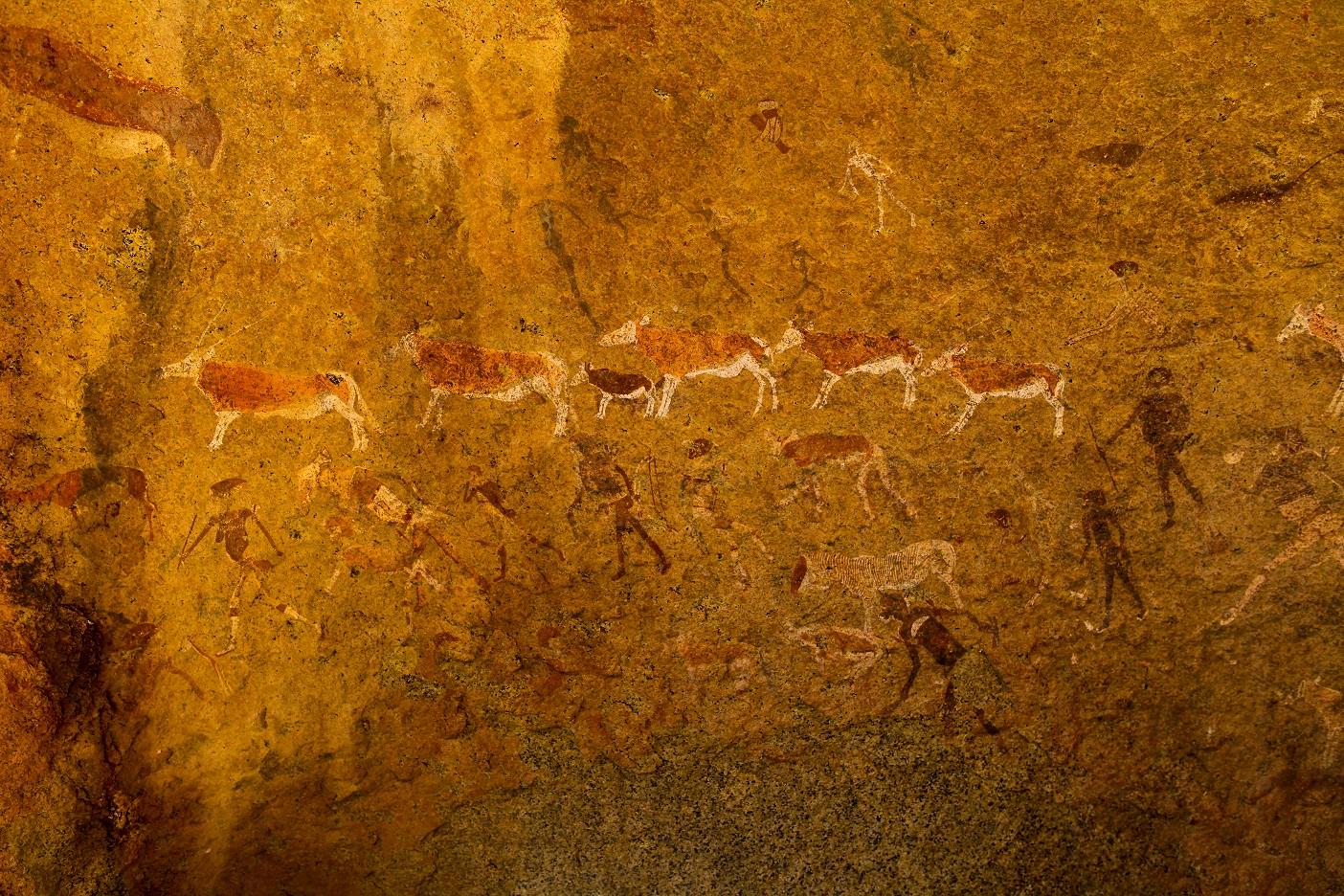 Peintures rupestres twyfelfontein Brandberg Damaraland Spitzkoppe Namibie