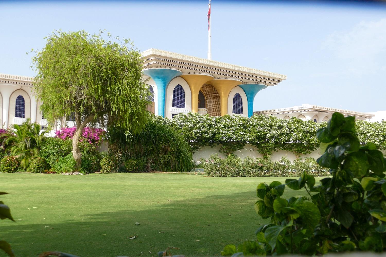 Ancien Palais royal Mascate Oman