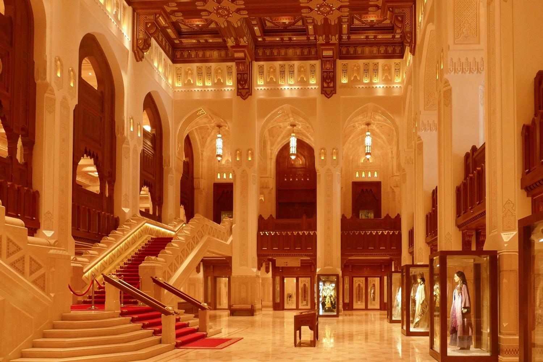 Grand escalier Royal Opera House Mascate