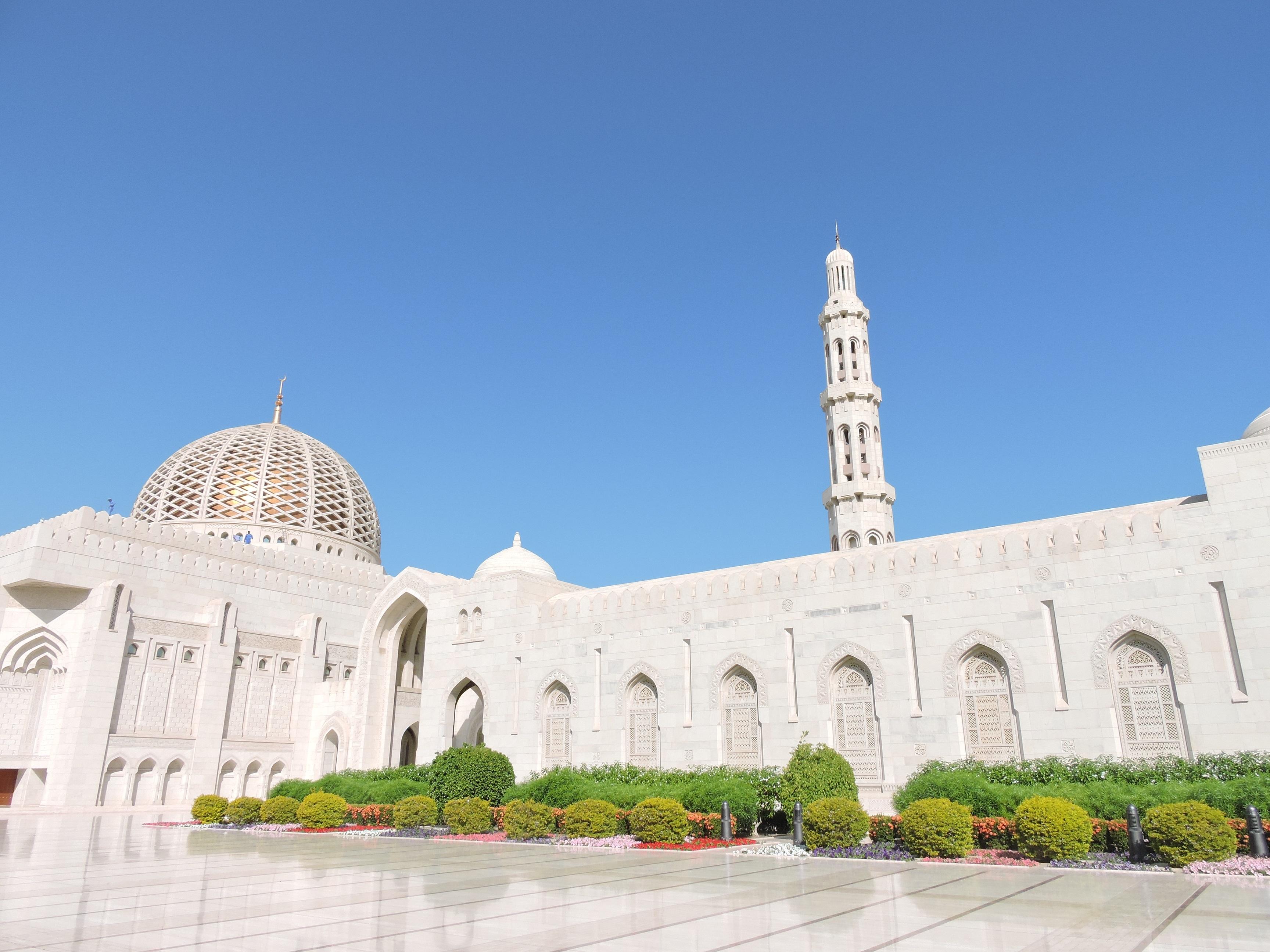 Mosquée Sultan Qaboos Mascate Oman