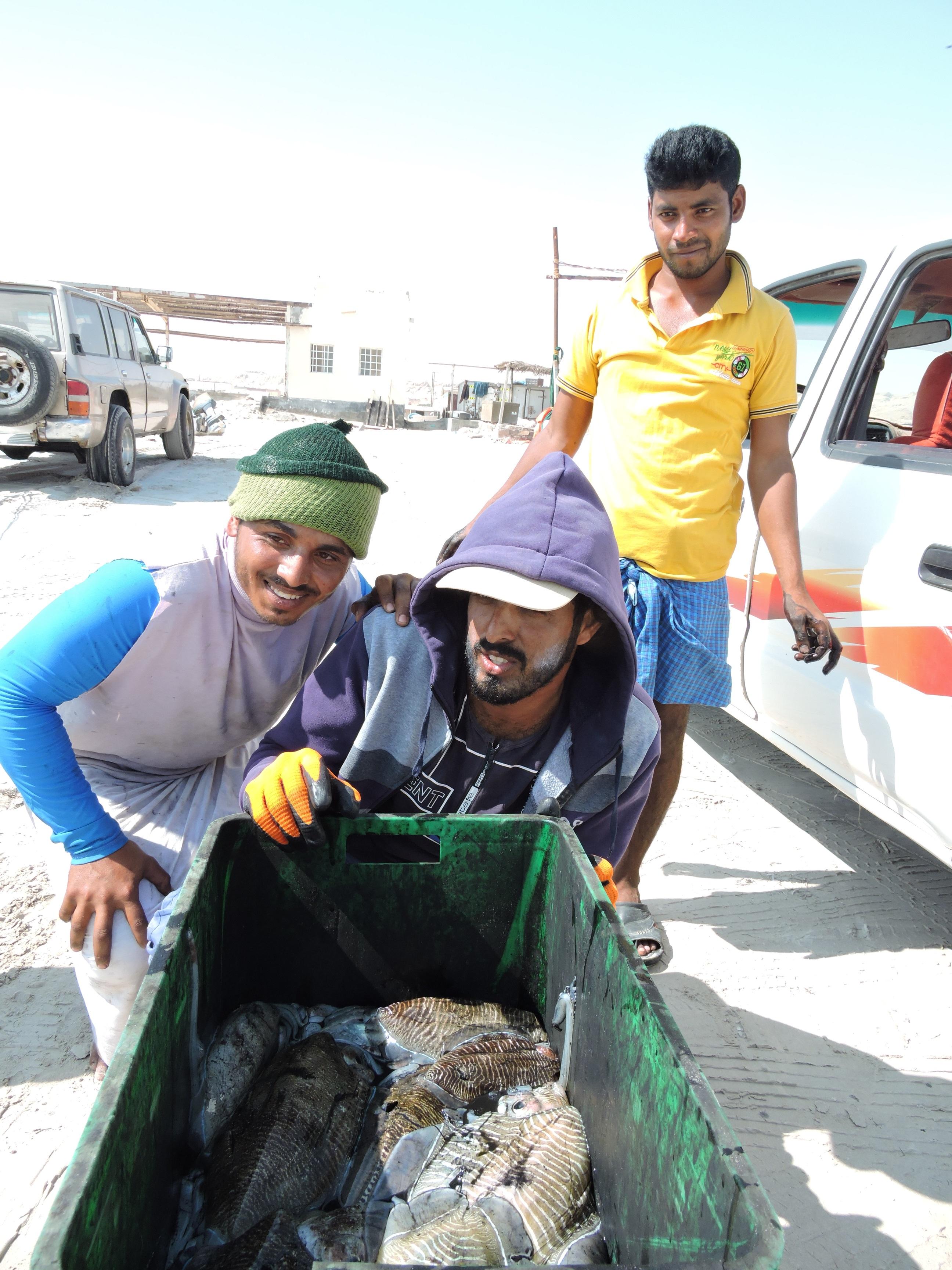 pecheurs Oman