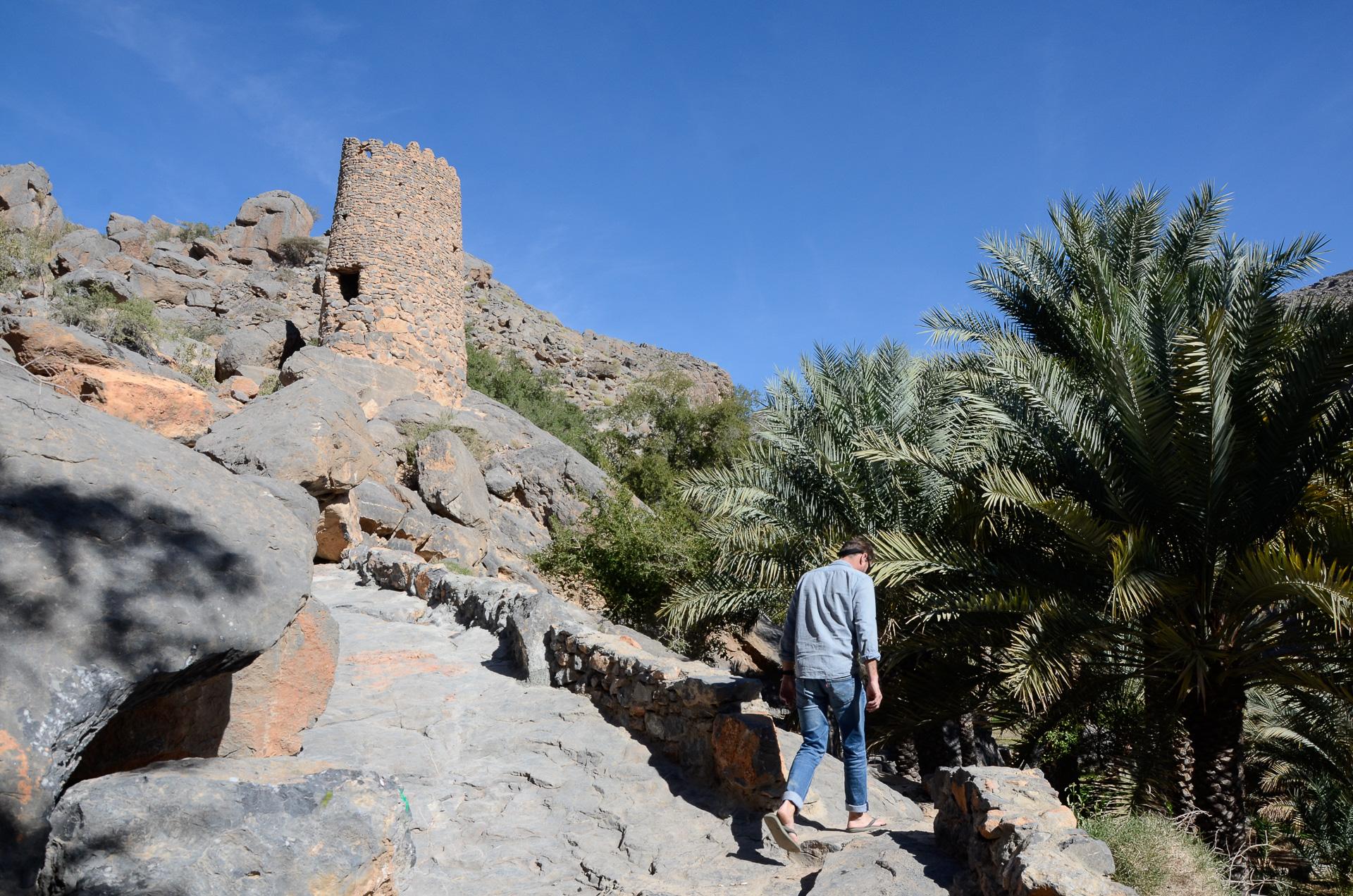 Village de Misfat Al Abreyeen