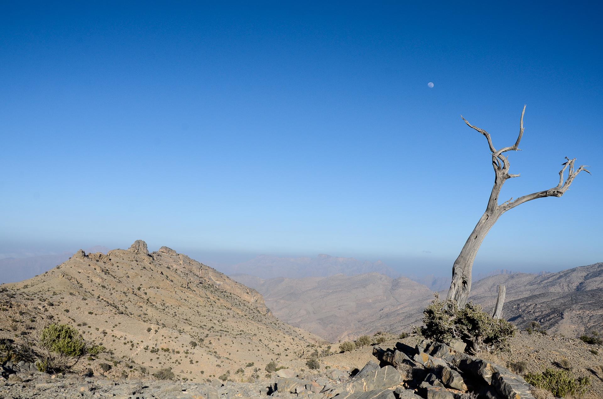 Djebel Akhdar Oman voyage trek tirawa