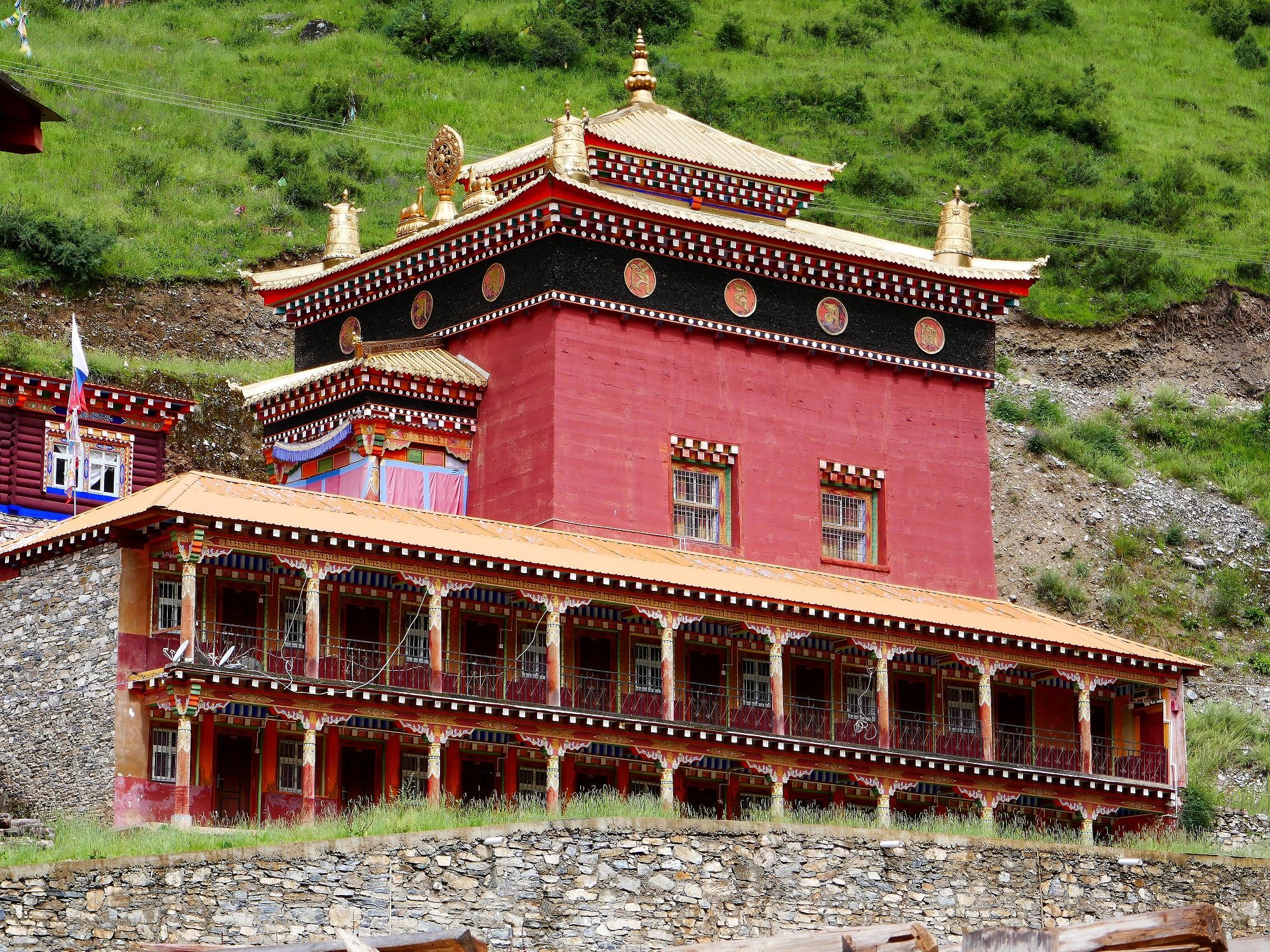 Monastère de Pelpung, siège des Situpa