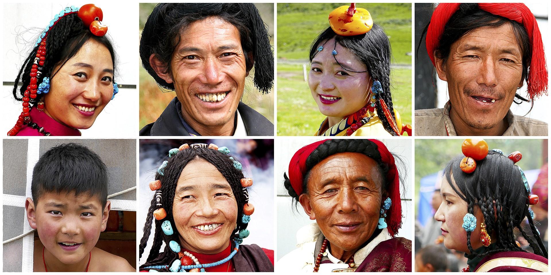 Tibétains du Kham