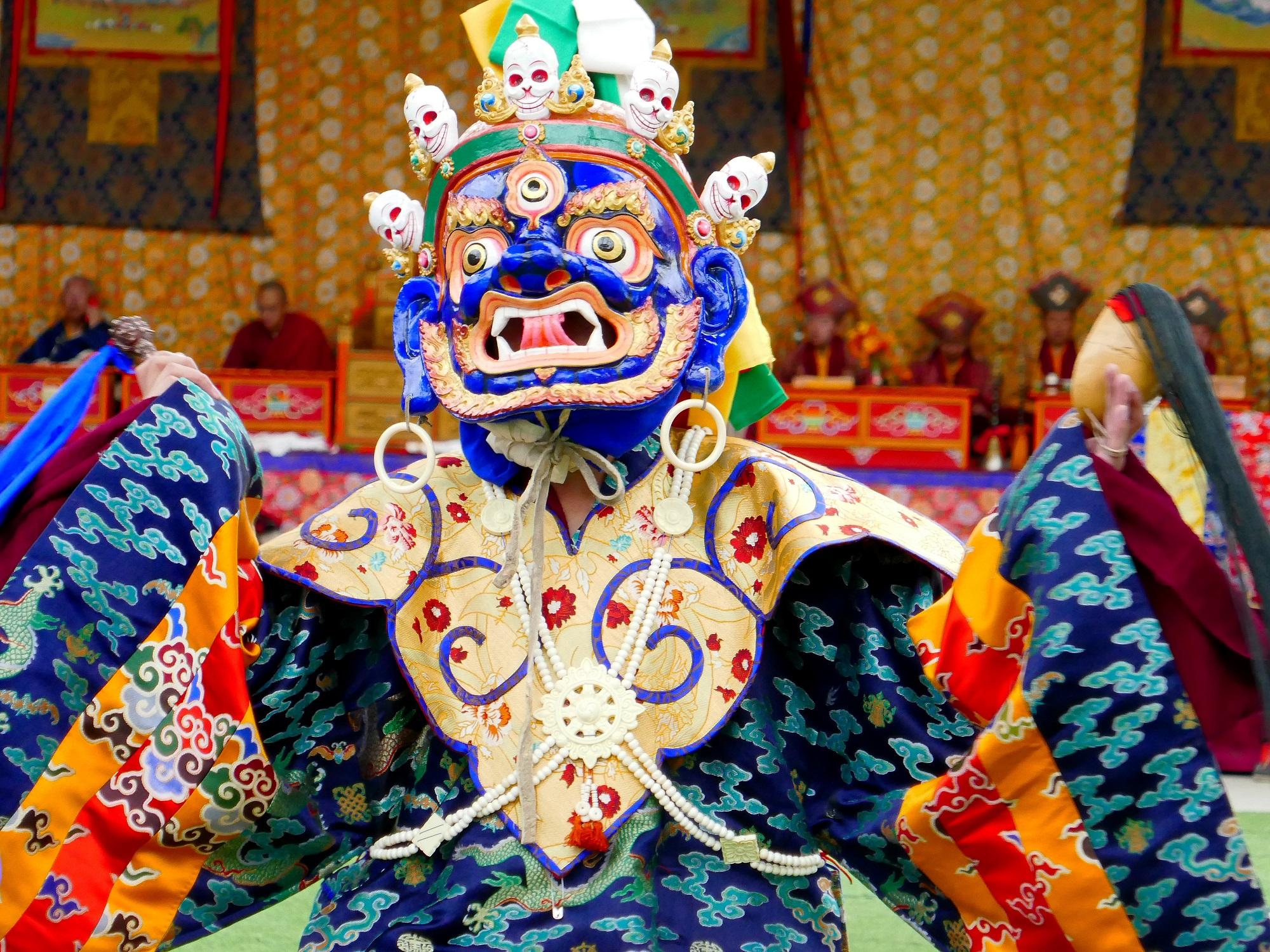 Danses sacrées au festival de Méshö