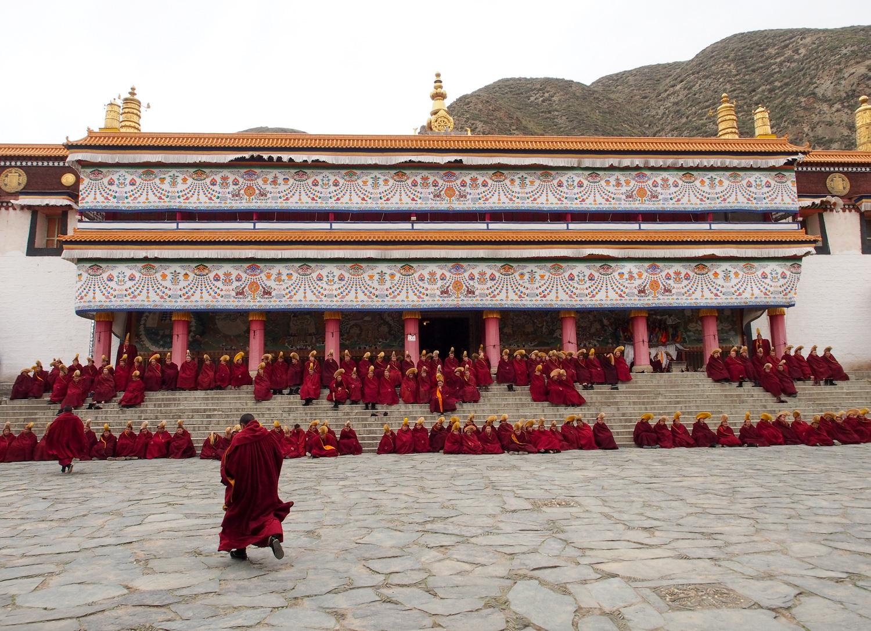 Les cérémonies dans les temples