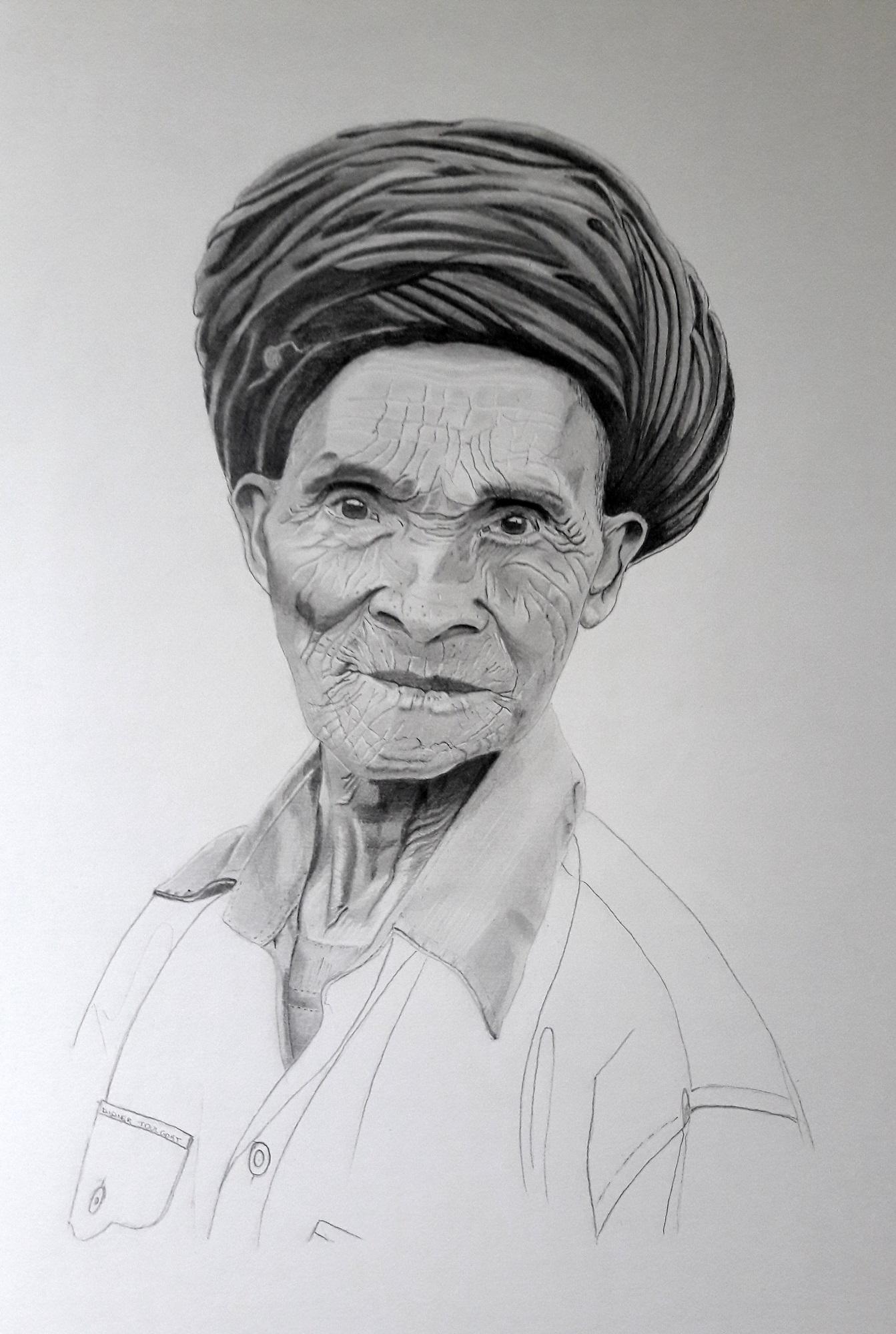 Portrait Nung Vietnam - DIDIER TOULGOAT