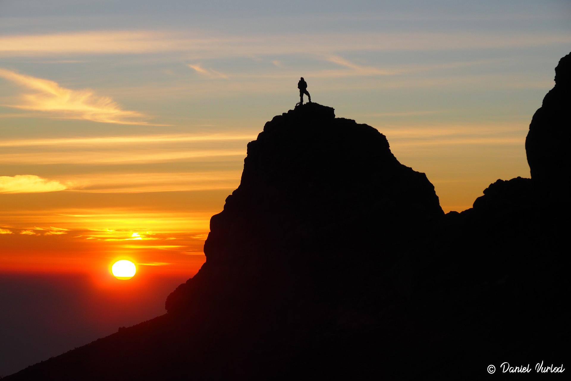 Lever de soleil depuis le sommet du Mont Agung Bali Indonésie Daniel Vurlod