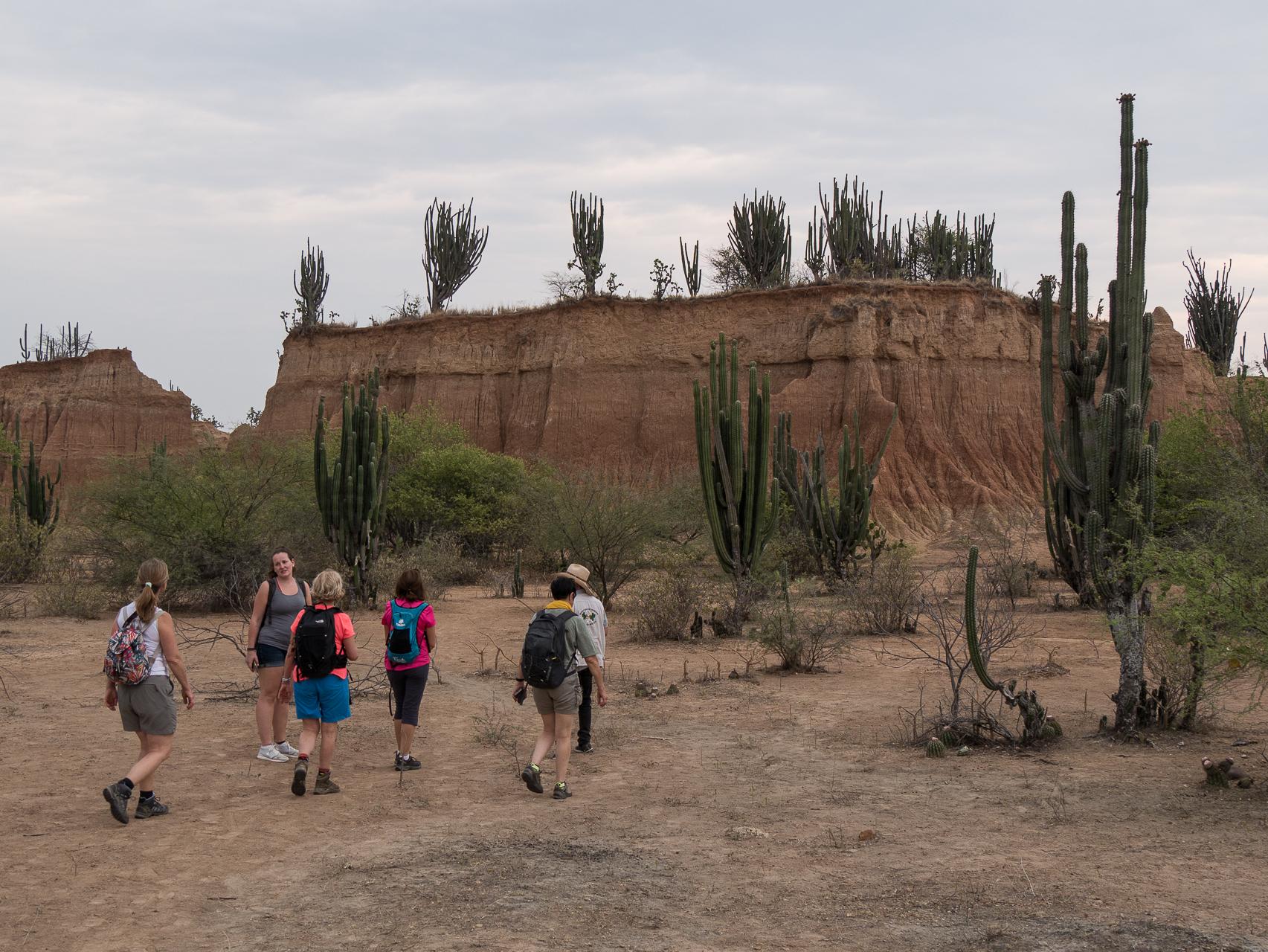 Tataco le désert Rouge Colombie