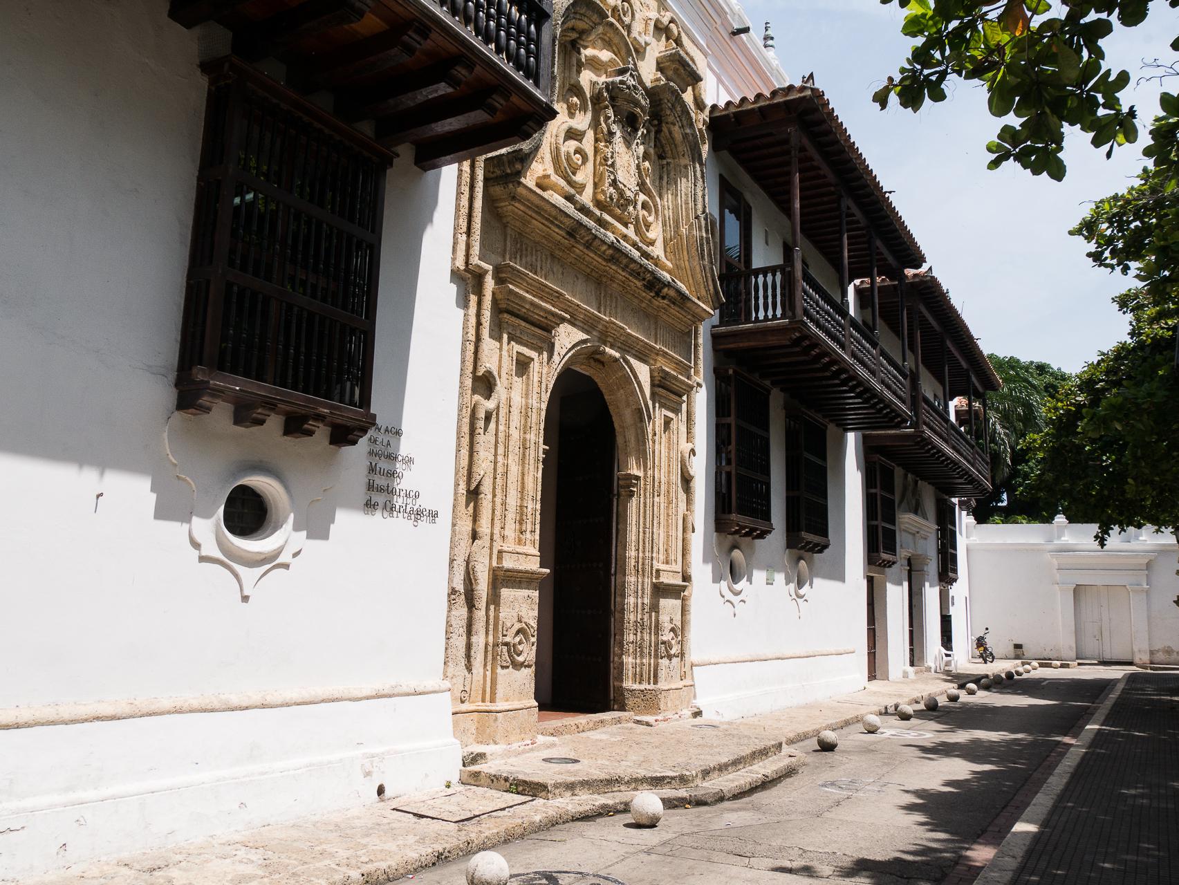 Cathagène Colombie, palais de l'inquisition