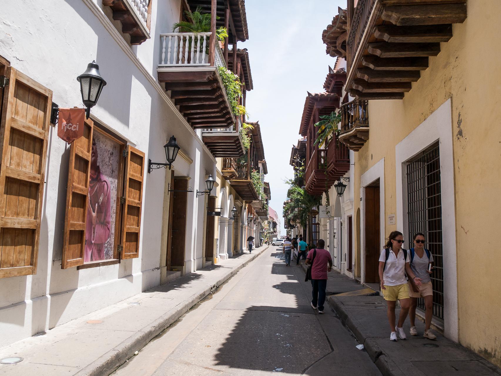 Cathagène Colombie