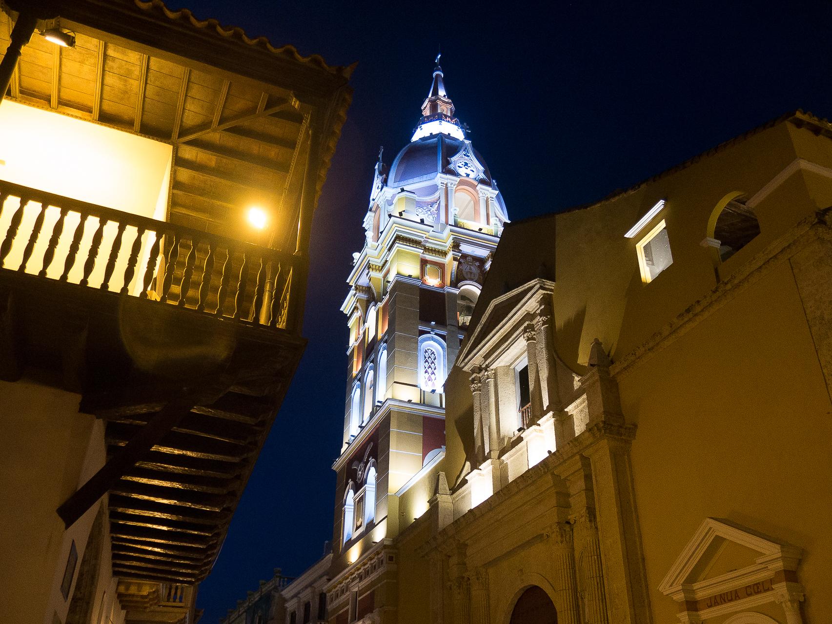 Cathagène Colombie, la cathédrale