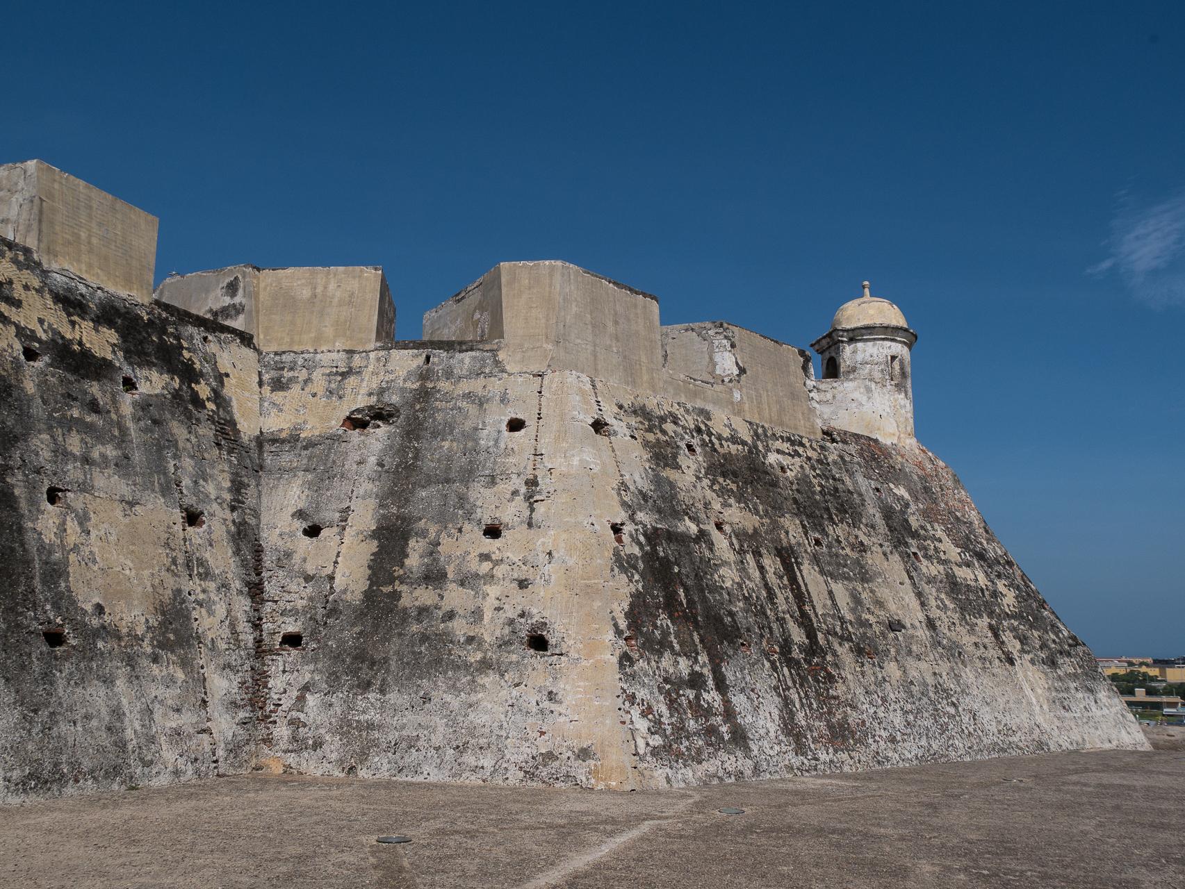 Cathagène Colombie, la forteresse San Felipe
