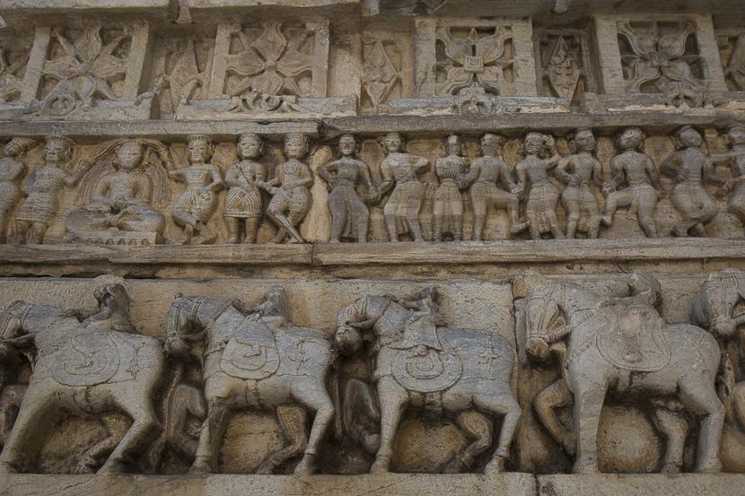 Sculptures du temple de Jagdish