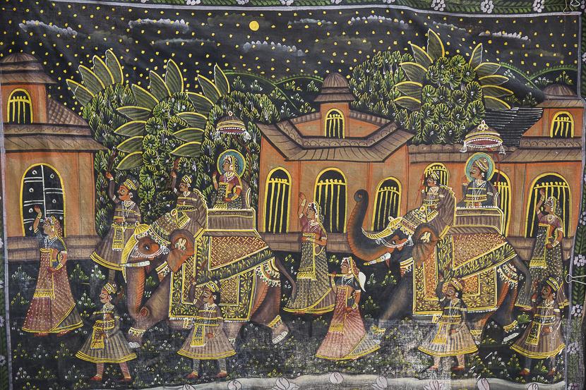 Peintures murales du City Palace