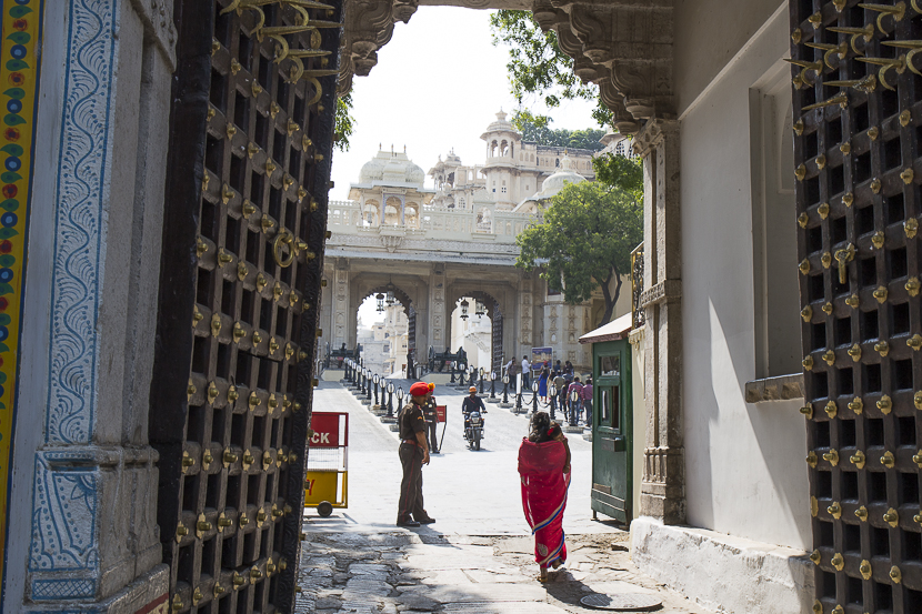 Rajasthan Entrée du palais