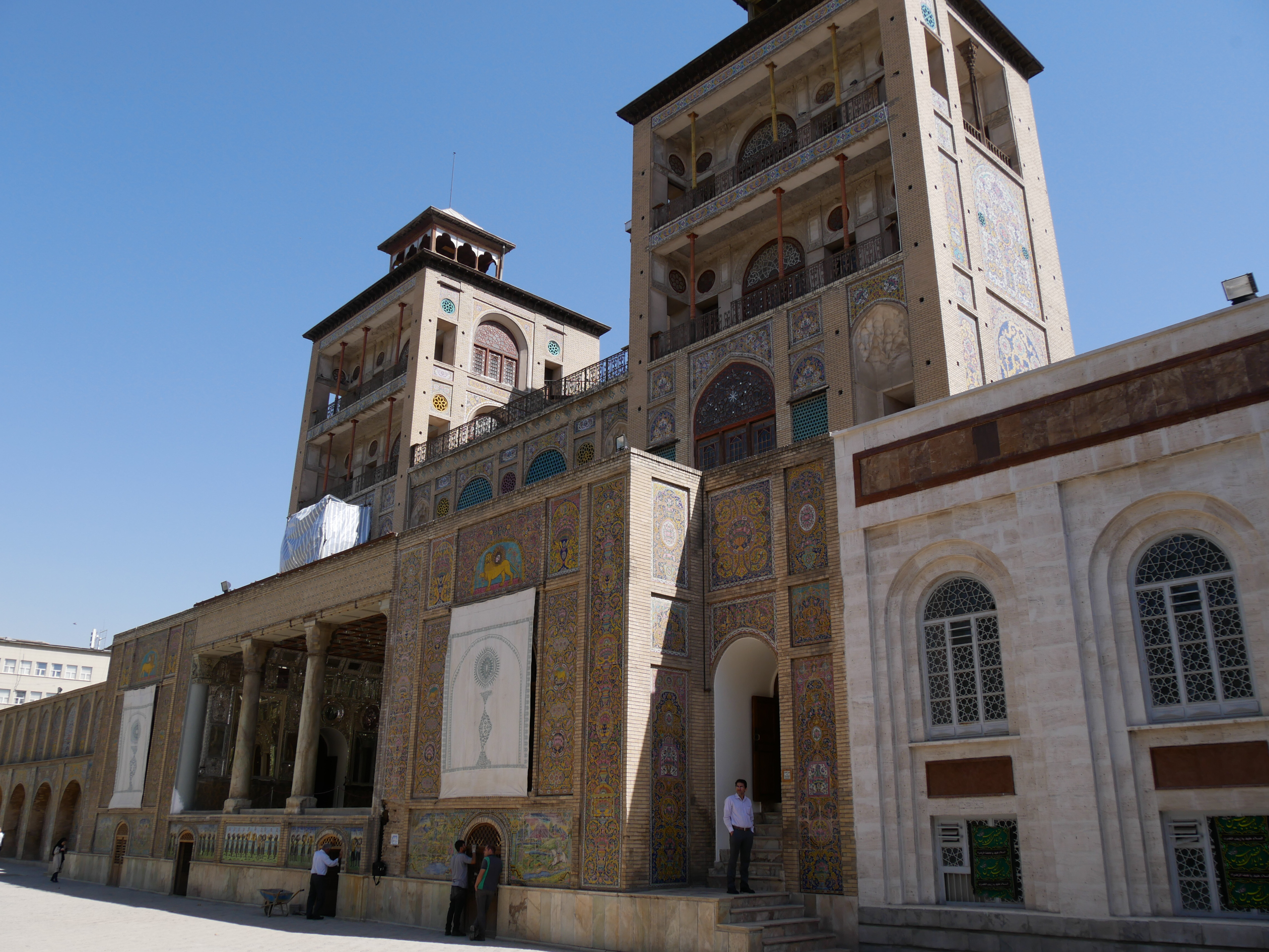 Palais du Golestan àTéhéran Iran